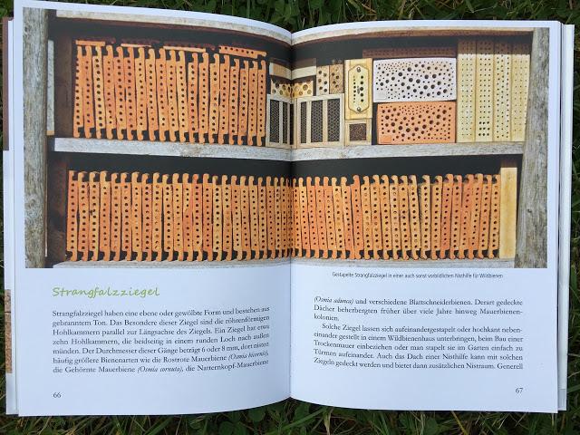 fertig zum einzug nisthilfen f r wildbienen von werner david bergblumengarten. Black Bedroom Furniture Sets. Home Design Ideas